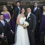 Just Married at The Purple Orchid