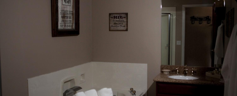 Rhustler's Rhapsody bathroom