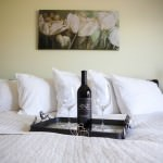 Wine and bed