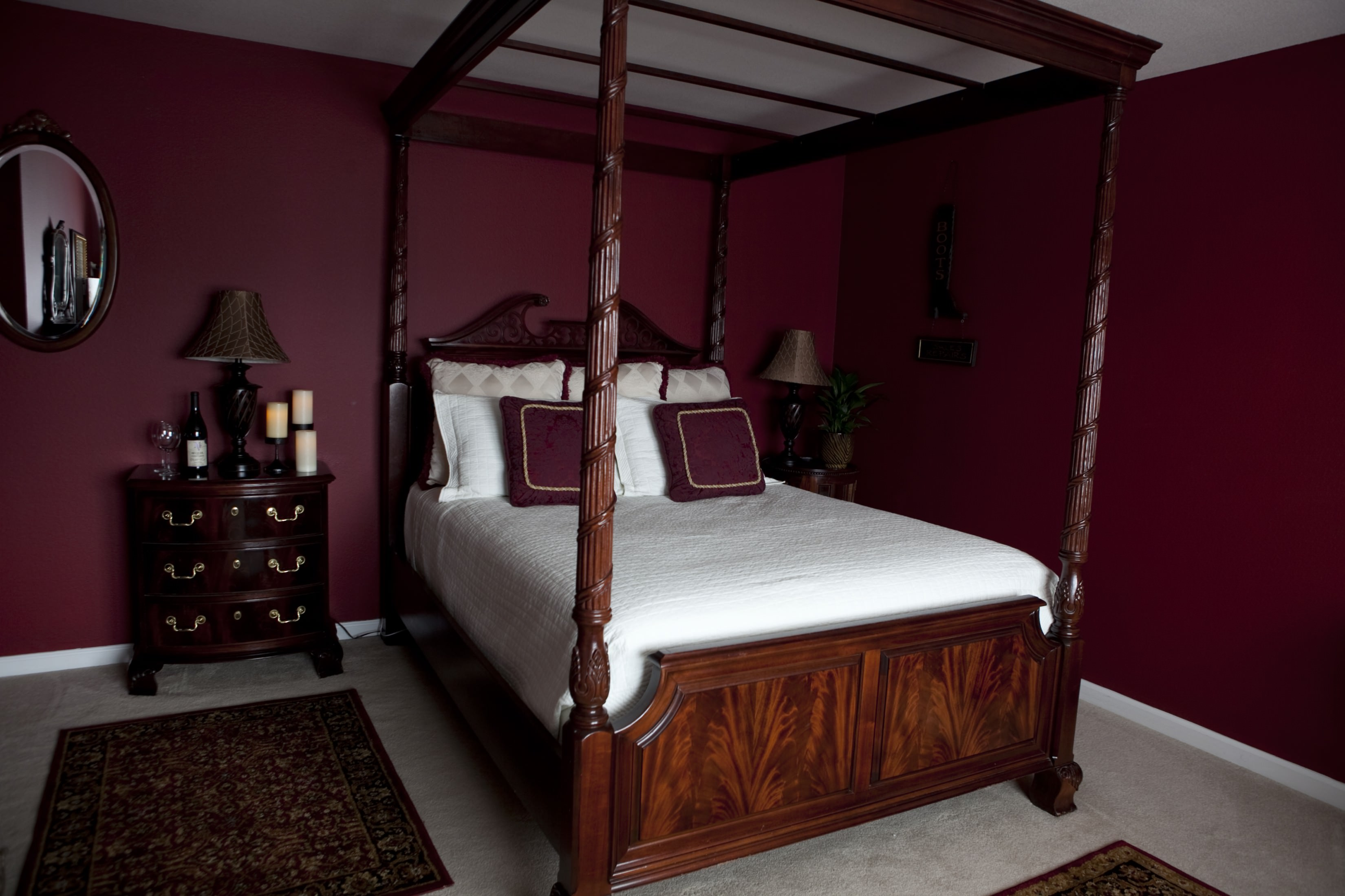 livermore bed and breakfast the purple orchid wine country
