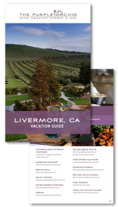 Purple Orchid Livermore Vacation Guide cover