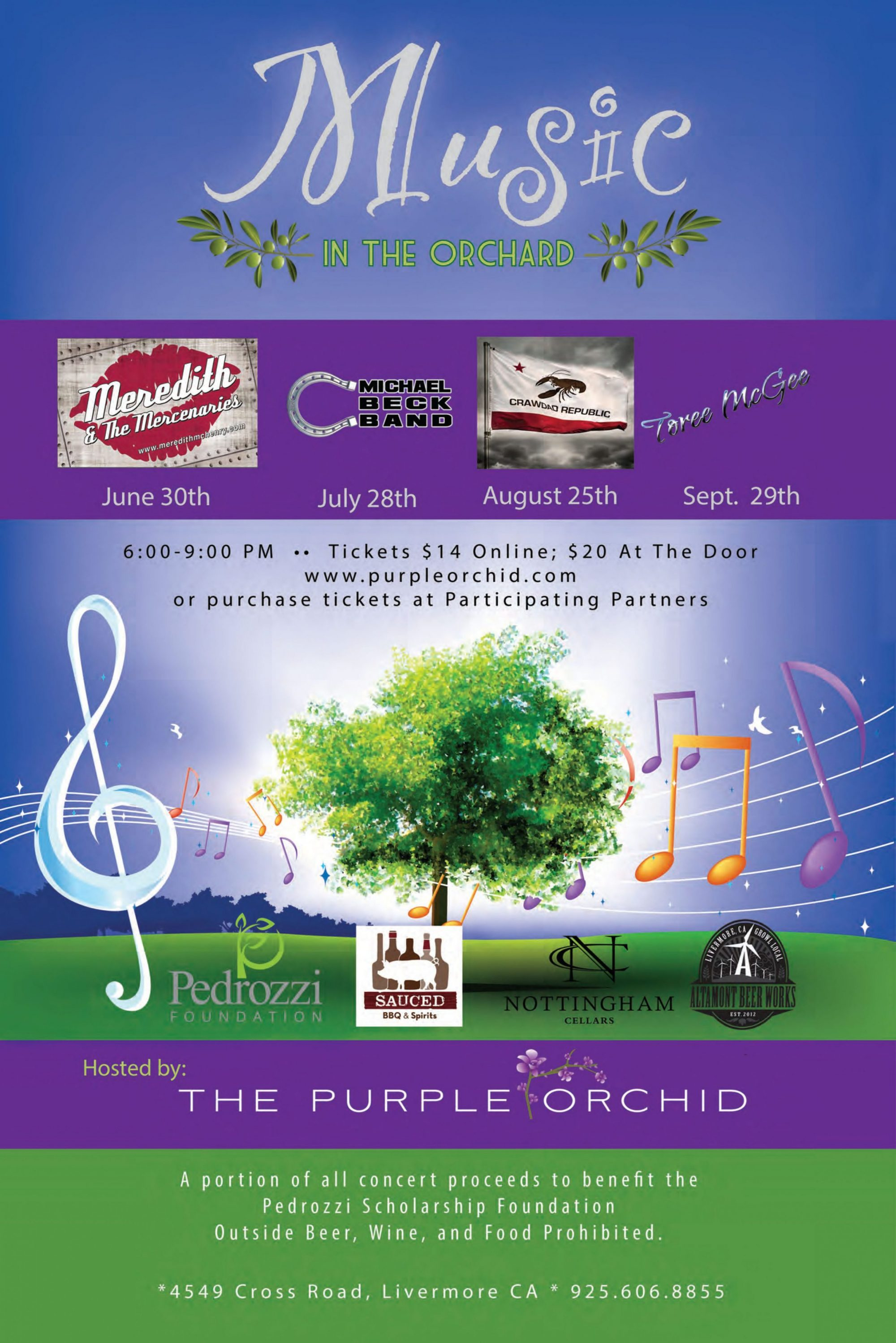 2016 Music in the Orchard Livermore