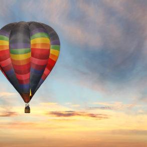 San Francisco hot air balloon